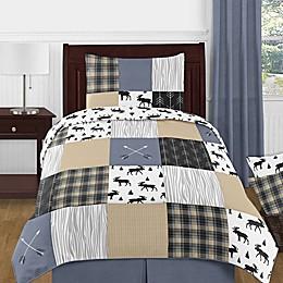 Sweet Jojo Designs® Reversible Rustic Patch Bedding Set