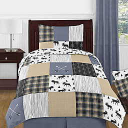 Sweet Jojo Designs® Reversible Rustic Patch Bedding Set