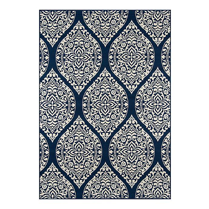 Alternate image 1 for Momeni® Baja Area Rug in Blue