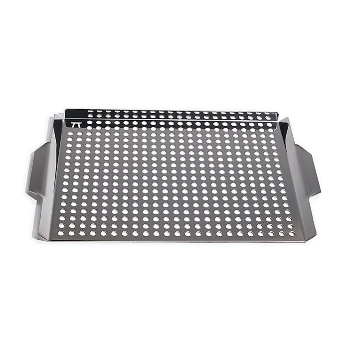 Alternate image 1 for 11.25-Inch x 17.25-Inch Stainless Steel Grill Griddle