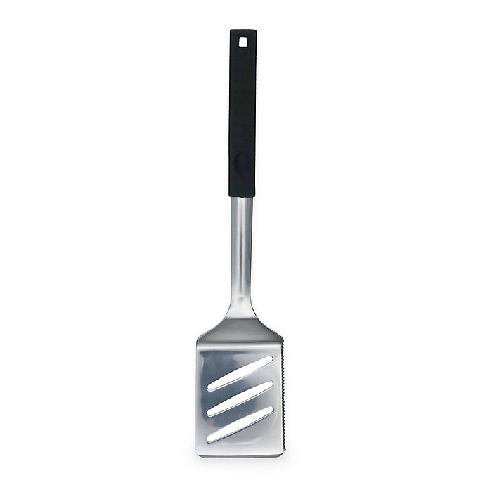 Alternate image 1 for Just Grillin' Easy Grip Stainless Steel Spatula