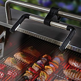 Just Grillin' Grill Light with Clamp in Black