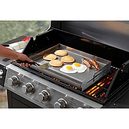 Just Grillin' 14-Inch x 19-Inch Stainless Steel Griddle