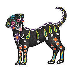 Gallerie II Day Of The Dead Dog Decoration in Black