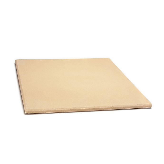Alternate image 1 for Outset 14-Inch x 16-Inch Rectangular Pizza Grill Stone in Beige