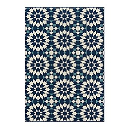 Momeni® Baja Area Rug in Navy