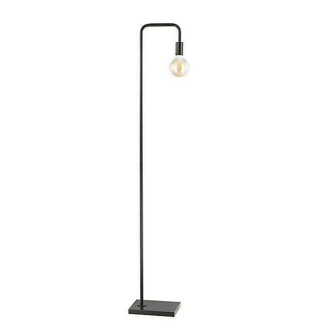 Alternate image 1 for Safavieh Bran Floor Lamp in Dark Grey