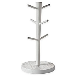 Kamenstein® White-Washed Mug Tree