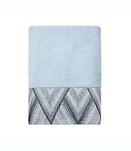 Croscill® Echo Toalla de medio baño en azul hielo/gris