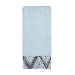 Croscill® Echo Hand Towel in Grey