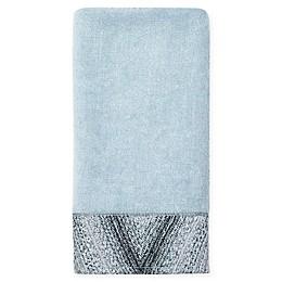 Croscill® Echo Fingertip Towel in Grey