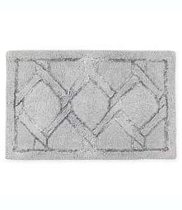 Croscill® Gwynn Tapete para baño de 50.8 x 76.2 cm en plata