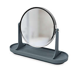 Umbra® Curvino Vanity Mirror in Charcoal