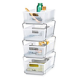 madesmart® White and Frost Storage Collection