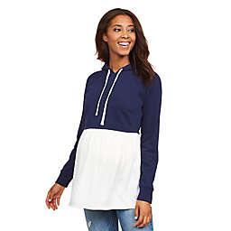 Motherhood Maternity® Hooded Maternity Sweatshirt Twofer