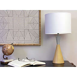 Marmalade™ Brenner Table Lamp in Grey/Natural