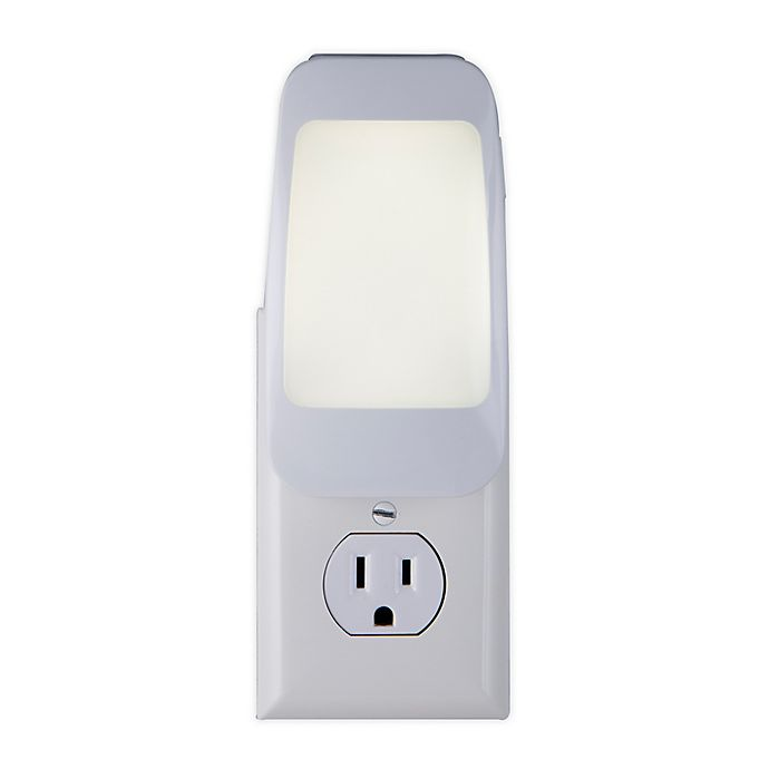 Alternate image 1 for GE 4-in1 LED Power Failure Night Light in White