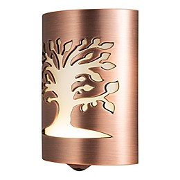 GE Tree of Life LED CoverLite Night Lite in Oil Rubbed Bronze