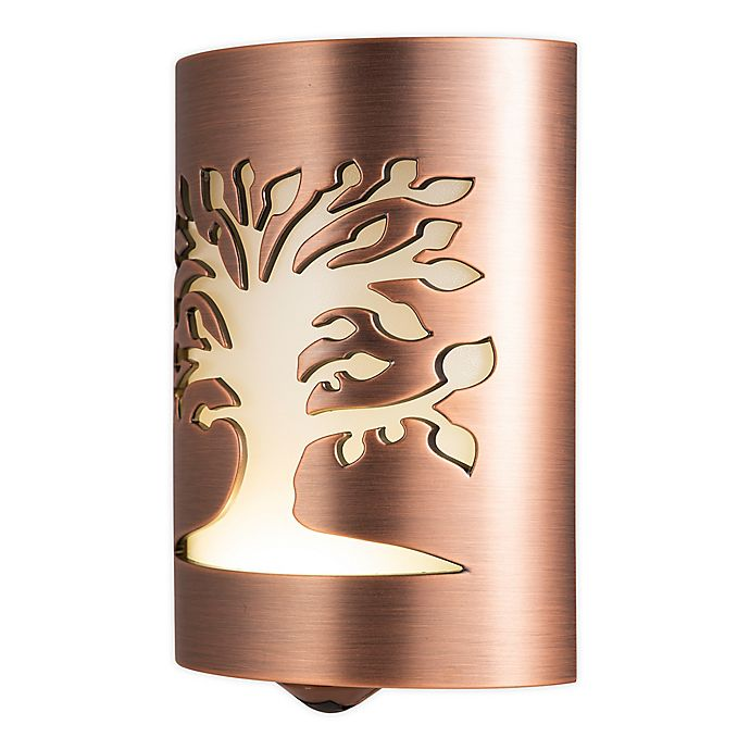 Alternate image 1 for GE Tree of Life LED CoverLite Night Lite in Oil Rubbed Bronze