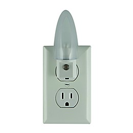Jasco Lights By Night Automatic LED Night Lights in White (Set of 2)