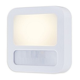 GE Motion-Activated LED Night Light in White