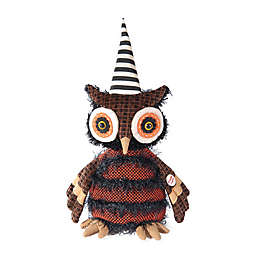 Gallerie II Musical Dancing Hoot Owl Halloween Figurine