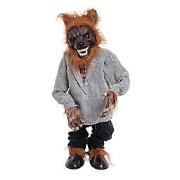 Gallerie II Sound & Motion Werewolf Halloween Figurine