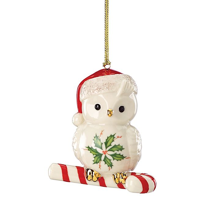 Alternate image 1 for Lenox® Happy Hoolidays Owl Ornament