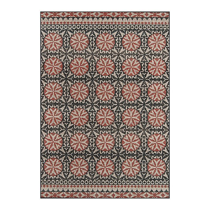 Alternate image 1 for Momeni® Baja Area Rug in Charcoal
