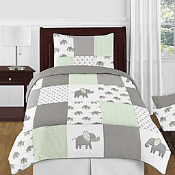 Sweet Jojo Designs® Elephant Patch Comforter Set