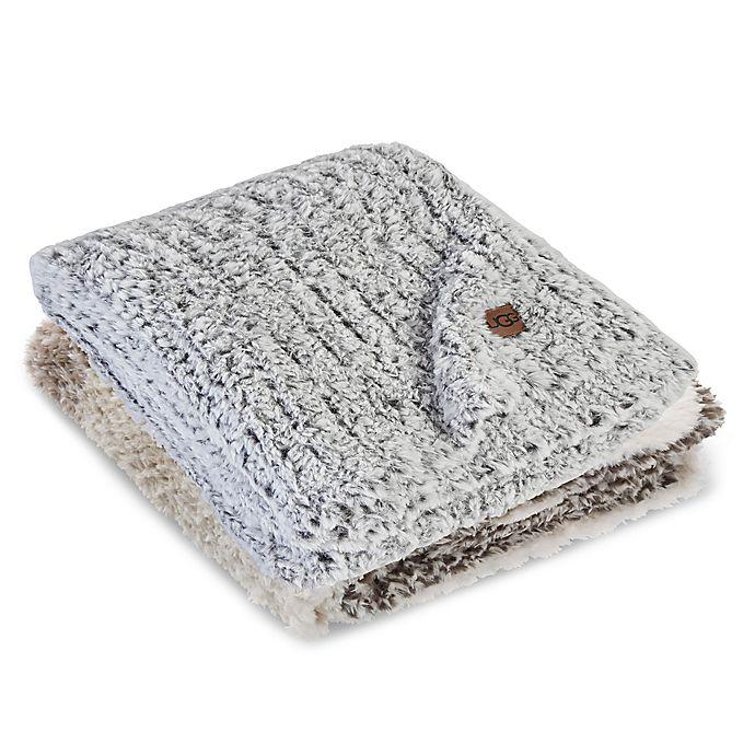 Alternate image 1 for UGG® Seacliff Reversible Throw Blanket