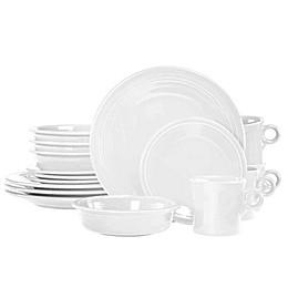 Fiesta® 16-Piece Dinnerware Set in White