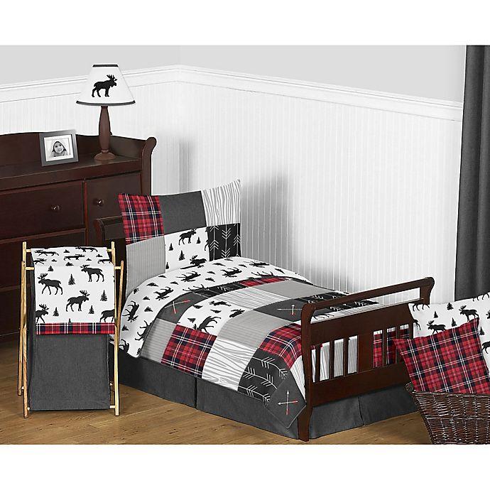 Alternate image 1 for Sweet Jojo Designs Rustic Patch Toddler Bedding Set