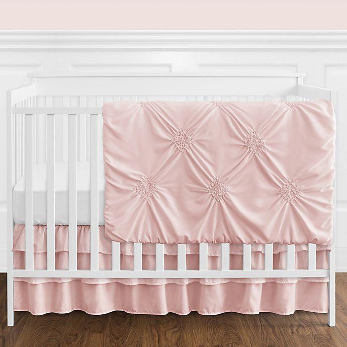 Here Is Harper S Updated Nursery: Sweet Jojo Designs® Harper 4-Piece Crib Bedding Set In