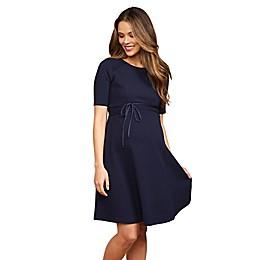 Motherhood Maternity® Pleated Waist Dress
