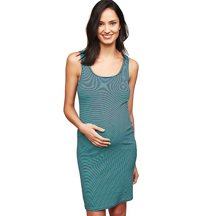 Alternate image 1 for Motherhood Maternity® Rib Knit Maternity Dress