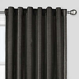 The Collection Fritz Rod Pocket/Back Tab Window Curtain Panel (Single)
