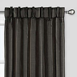 The Collection Fritz Pinch Pleat Rod Pocket Window Curtain Panel (Single)