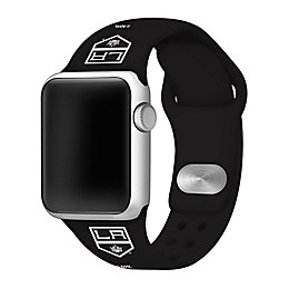 NHL Los Angeles Kings Apple Watch® Silicone Band in Black
