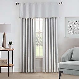 Enzo Window Curtain Panel and Valance
