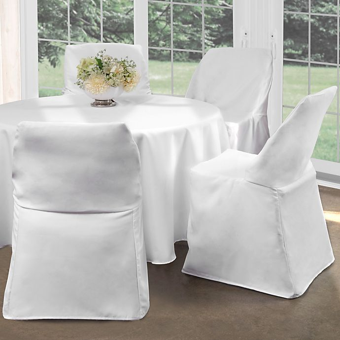 Folding Chair Cover Bed Bath Amp Beyond