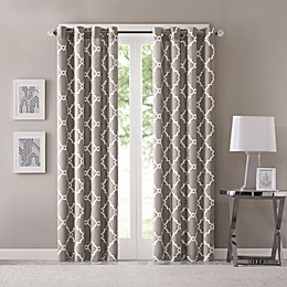 Madison Park Saratoga Grommet Window Curtain Panel