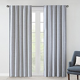 510 Design Ebon Woven 2-PackRod Pocket/Back Tab Total Blackout Curtain