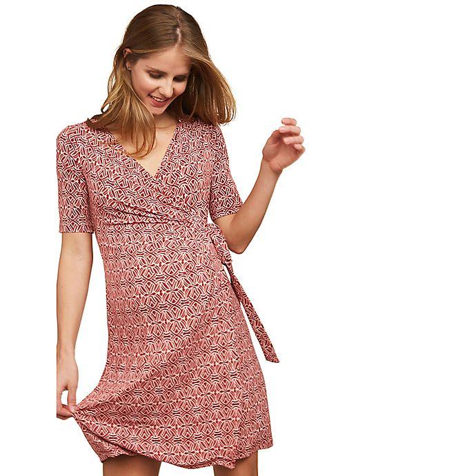 Alternate image 1 for Motherhood Maternity® Wrap Dress