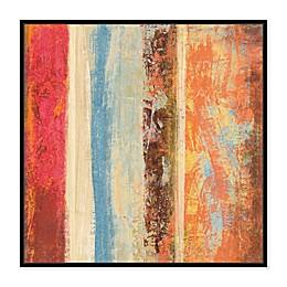 Oliver Gal SAI Geometric Iris II Canvas Wall Art