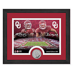 NCAA Oklahoma Sooners Kyler Murray and Baker Mayfield Desktop Minted Coin Photo Mint