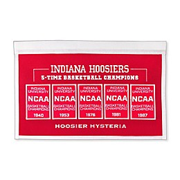 Indiana University Rafter Raiser Banner