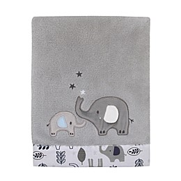 NoJo® Love You To The Moon Baby Blanket in Grey