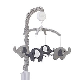 NoJo® Love You To The Moon Musical Mobile in Grey
