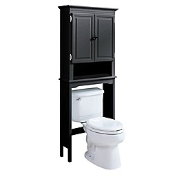 Wakefield No Tools Over the Toilet Space Saver in Grey
